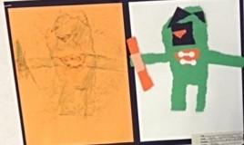 アメリカの小学校一年生はゴッホで色彩を学びます