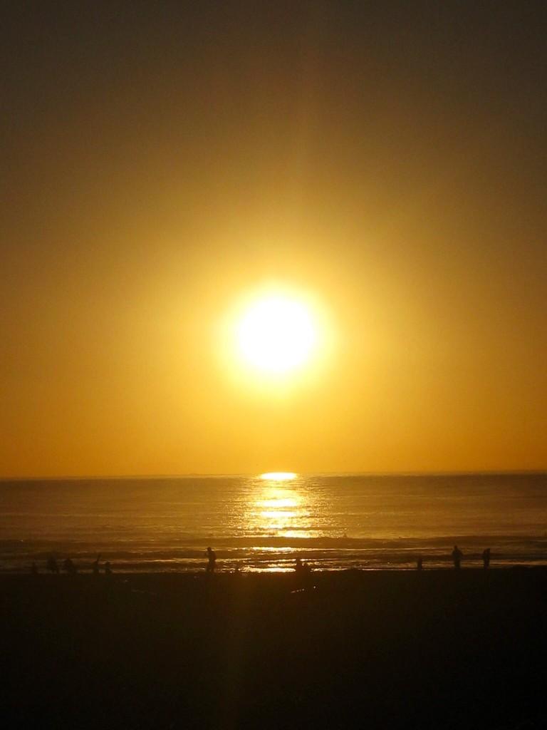 サンフランシスコの夕日