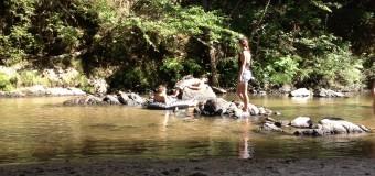 川遊びが楽しいシーズンの到来