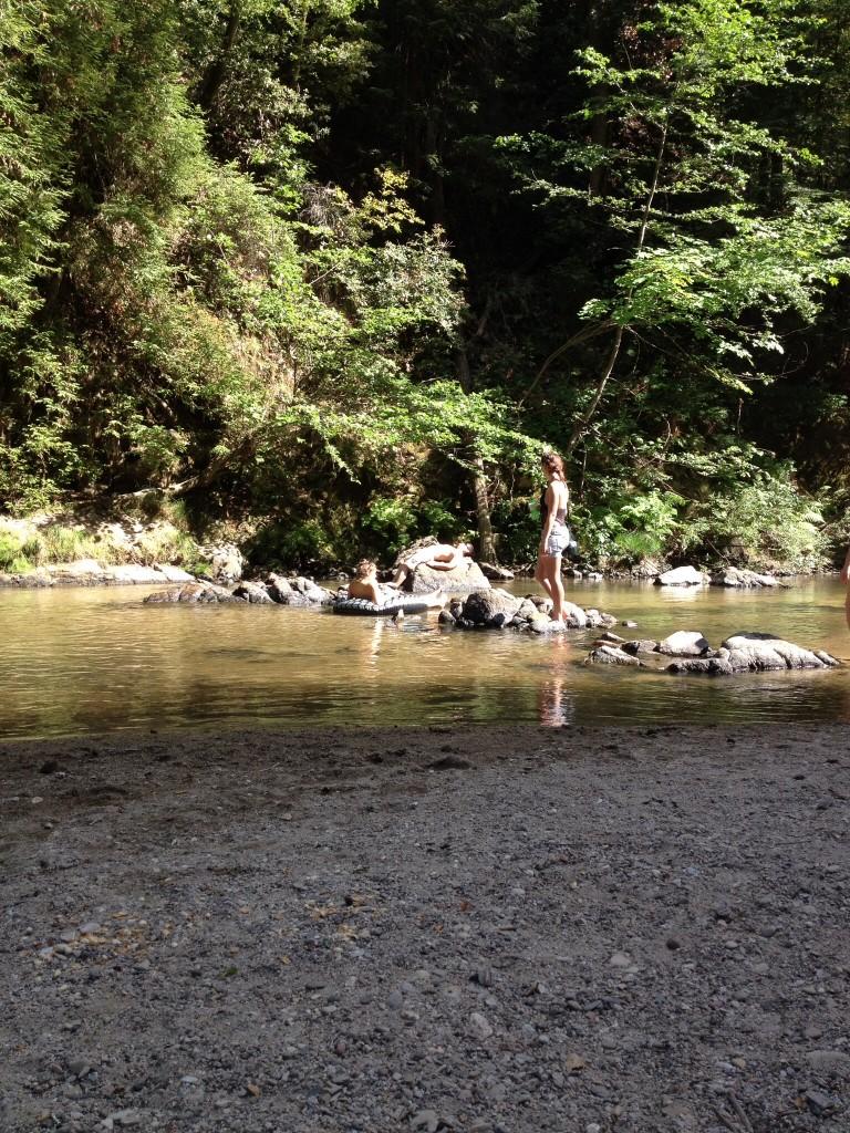 川遊びが楽しいシーズン到来