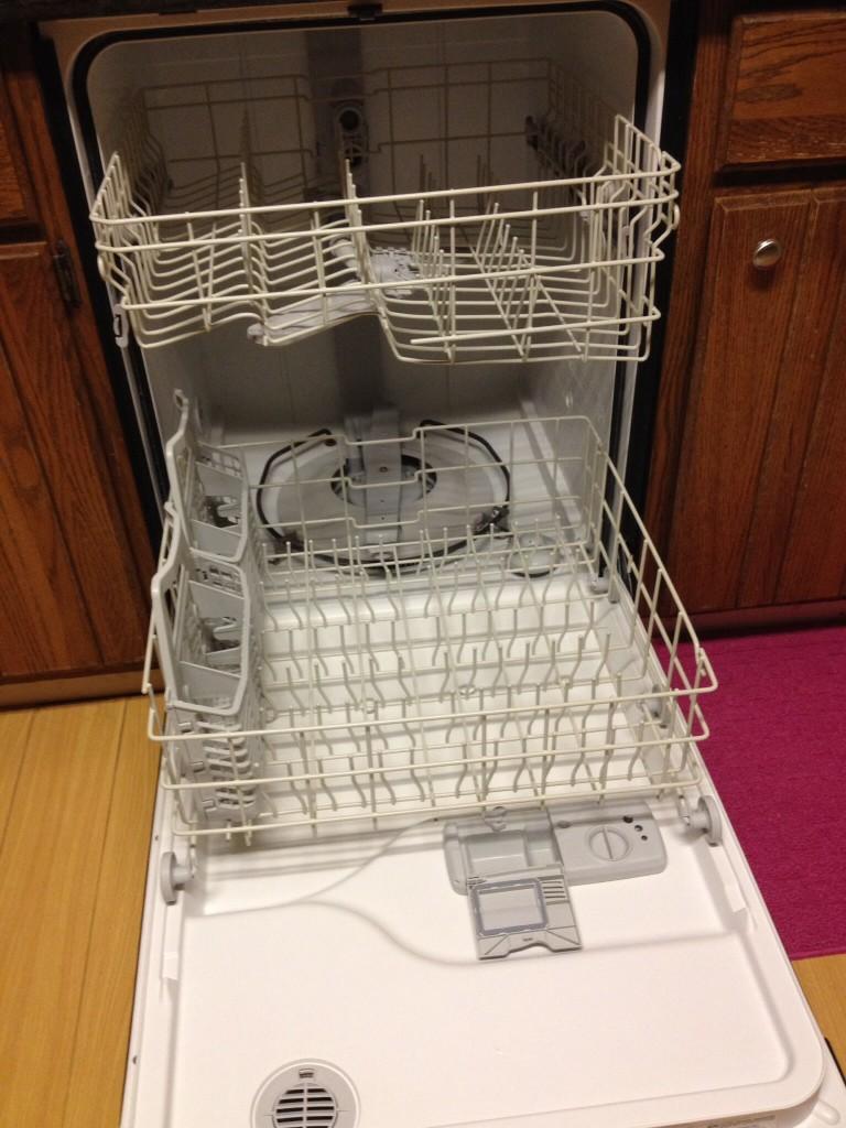 アメリカの食器洗い乾燥機