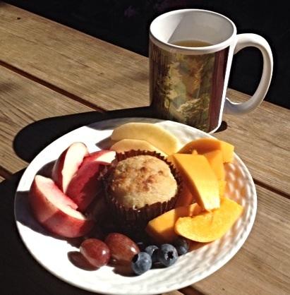 朝食はこんな感じです