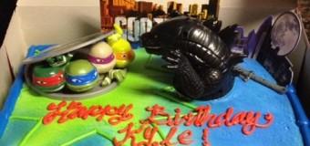 子供の大好きなキャラクターケーキ
