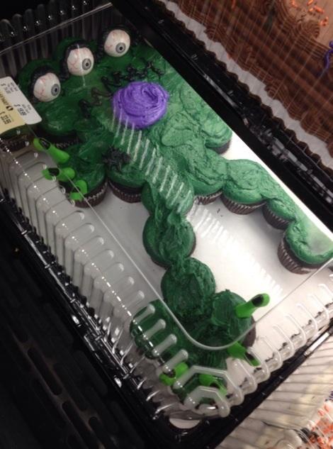 アメリカのハロウィンケーキ