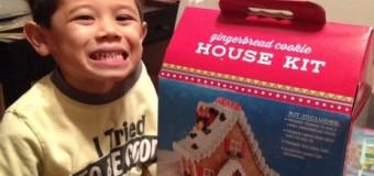 ジンジャーブレッドクッキーハウス