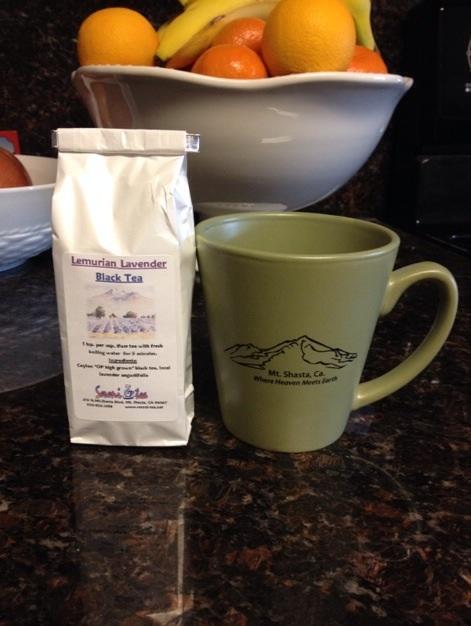 ラベンダー紅茶
