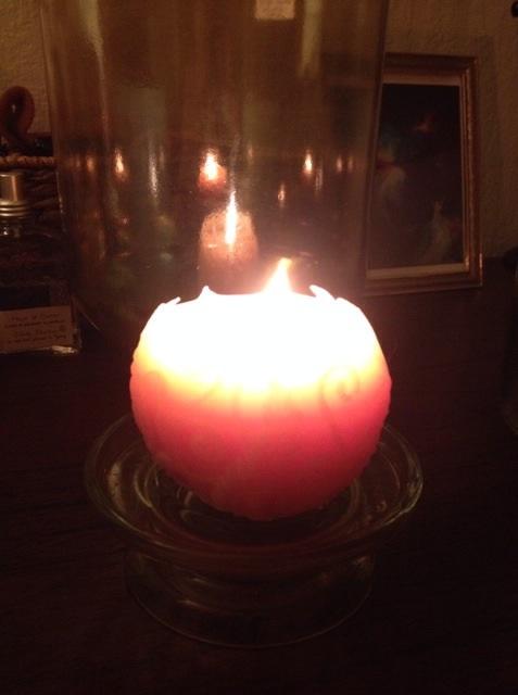 シャスタ山の灯り
