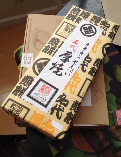 日本のおせんべい
