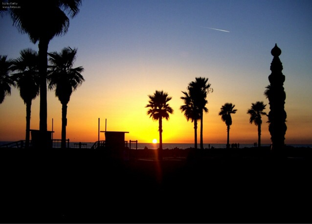ベニスビーチの懐かしいエネルギー
