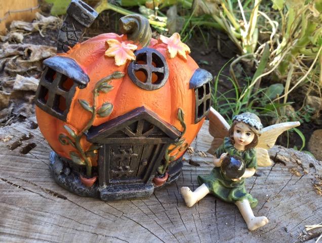 妖精が住むかぼちゃのお家
