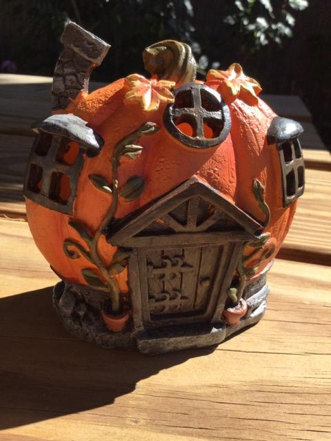 かぼちゃのお家