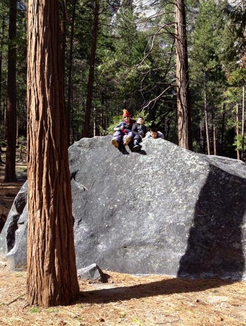 ヨセミテの巨石