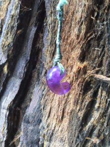 紫水晶の勾玉