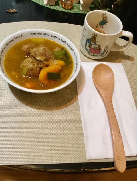 冬の野菜スープ